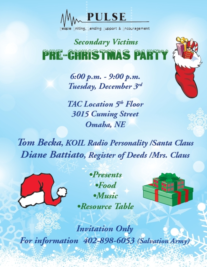 pulse christmas flyer